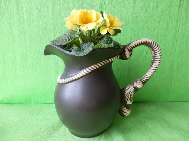 Keramický džbán Provaz 2,5l - květináč