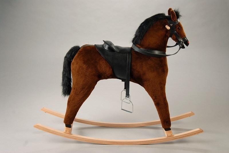 Houpací kůň - Samun hnědák