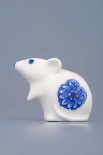 Porcelánová myška - Dubí - cibulák