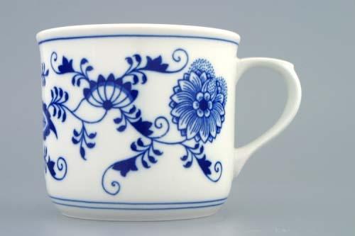 Porcelánový hrnek vařák Cibulák - český porcelán DUBÍ
