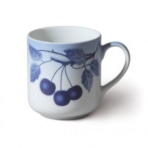 Porcelánový hrnek Cherry - Modré třešně - 4ks český porcelán Thun