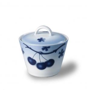 Porcelánová cukřenka Modré třešně - Cherry - Thun Ton