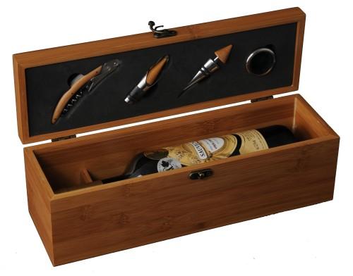 Dárková truhla na víno - vinařské potřeby Space