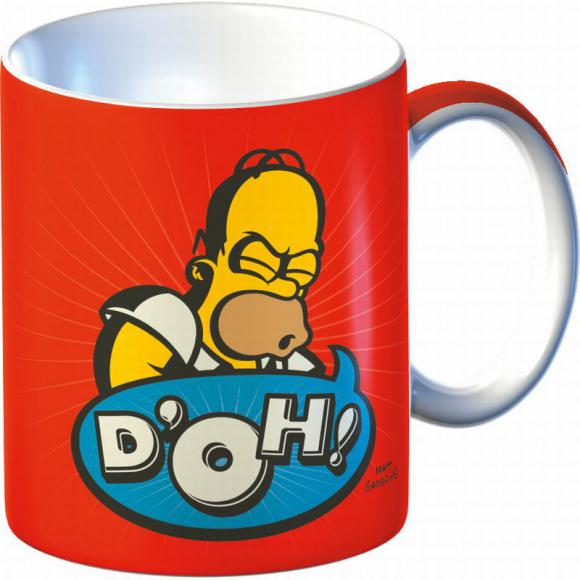 Keramický hrnek The Simpsons Homer - D'oh