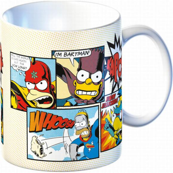 Keramický hrnek Super hero The Simpsons