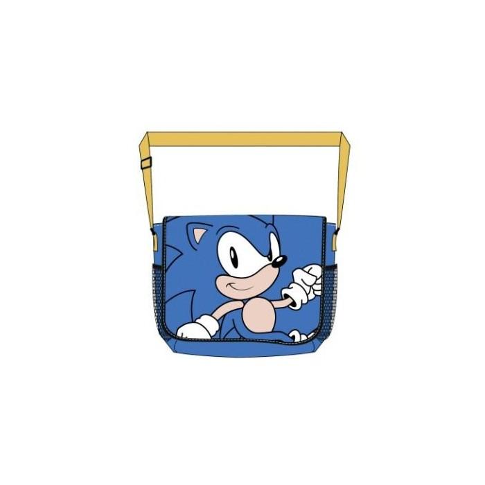 Retro taška přes rameno Blue Sonic - messenger