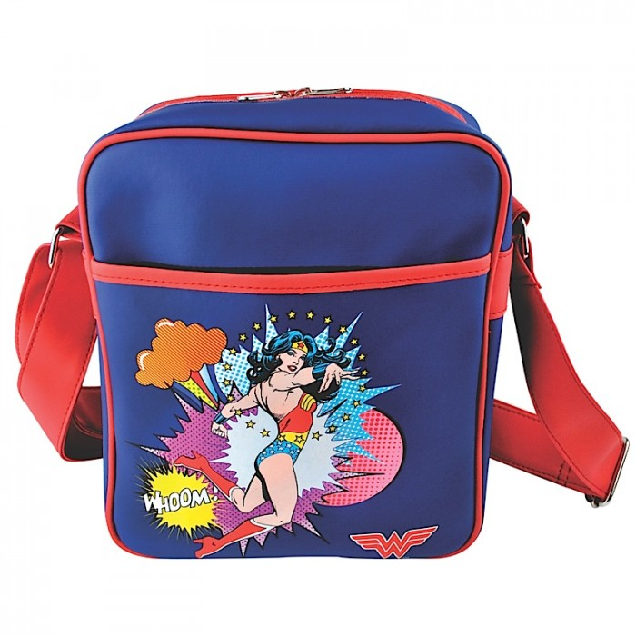 Retro taška přes rameno - messenger Wonder woman