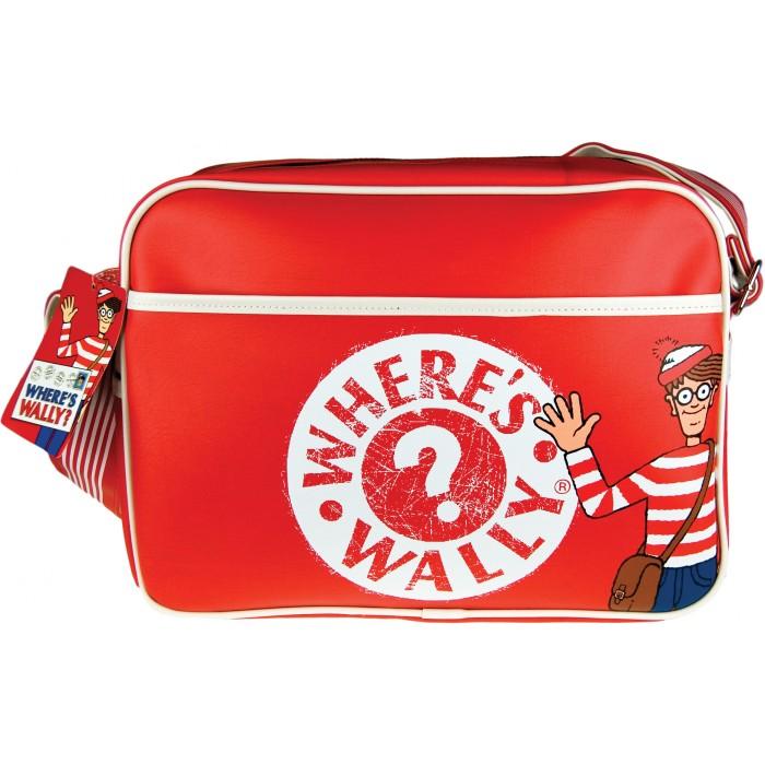 Retro taška přes rameno - messenger - Where Wally