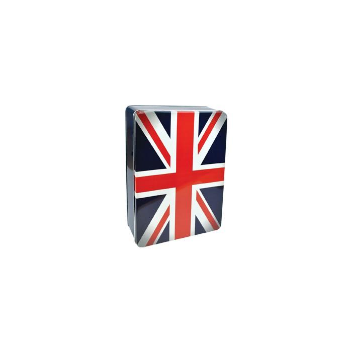 Plechovka - dóza Union Jack - britská vlajka heritage