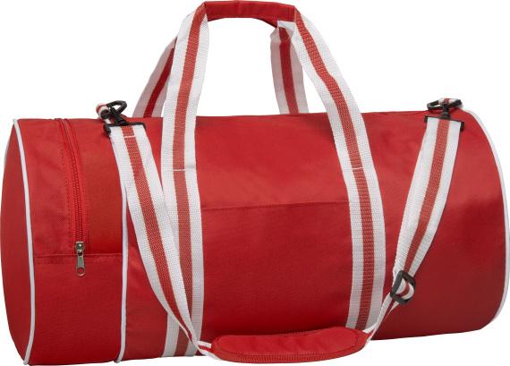 Sportovní retro taška Gun red