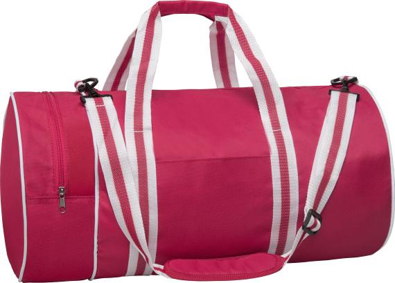 Sportovní retro taška Gun pink