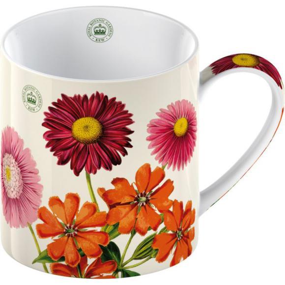 Porcelánový hrnek Květiny na zahrádce