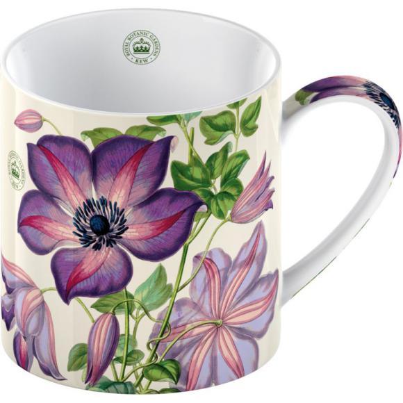 Porcelánový hrnek Klematis lila
