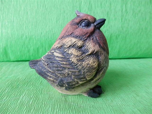Keramický ptáček
