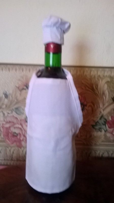 Oblek na láhev Kuchař