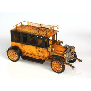 Plechový retro model Auto poštovní