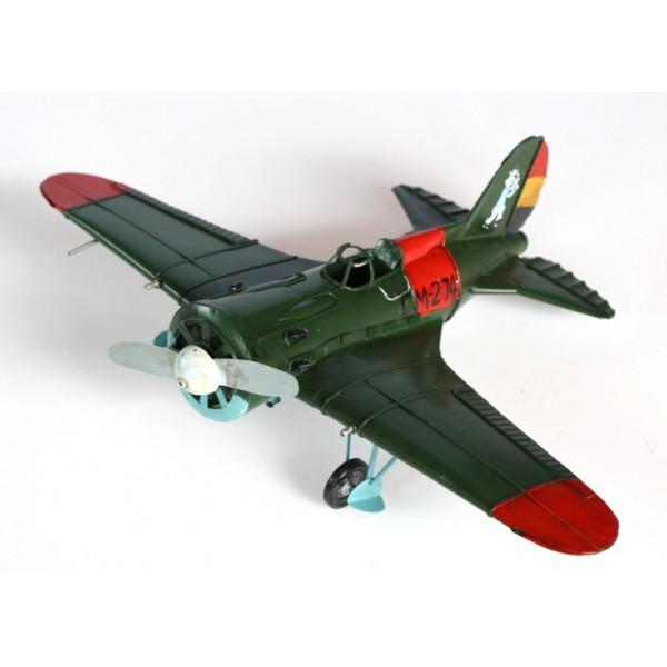 Plechový retro model Letadlo M274