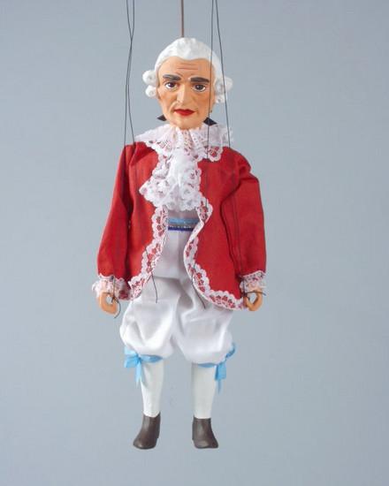 Loutka Mozart 30 cm