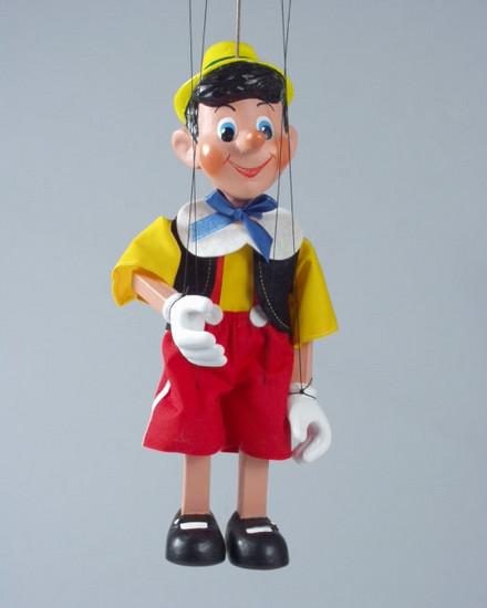 Loutka Pinokio 30 cm