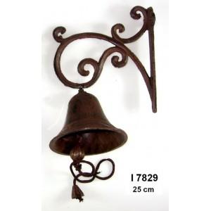 Litinový zvonek Brown M