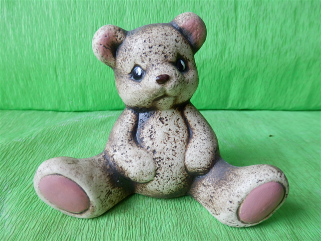 Keramický medvídek