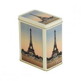 Plechová retro dóza - plechovka Paris Eiffelovka