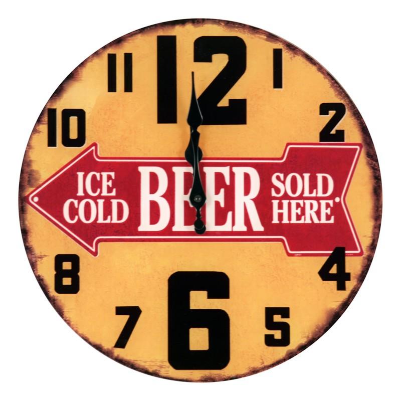 Hodiny na zeď Beer