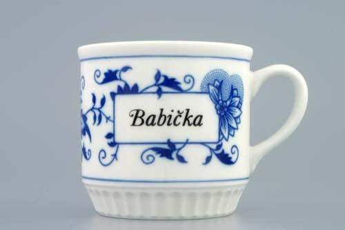 Porcelánový hrnek Babička - český porcelán DUBÍ