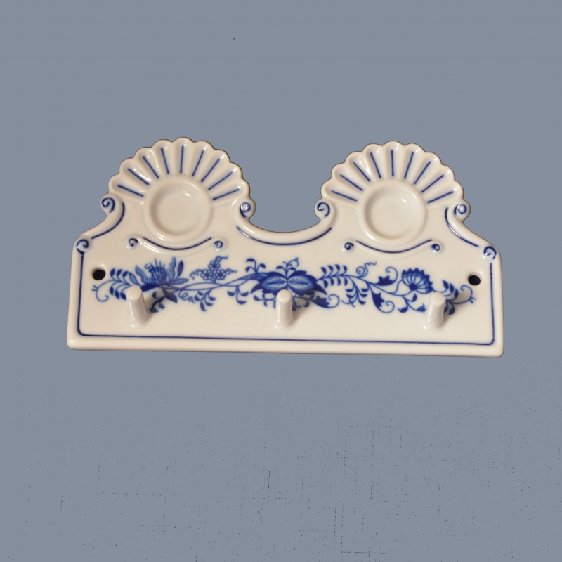 Porcelánový věšák Dubí - cibulák