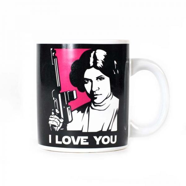 Keramický hrnek Star wars - I love you