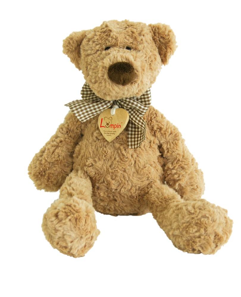 Velký plyšový medvídek Lumpin s mašlí M