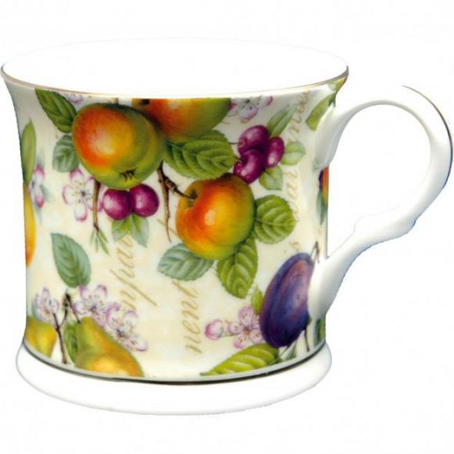 Porcelánový luxusní hrnek Ovoce