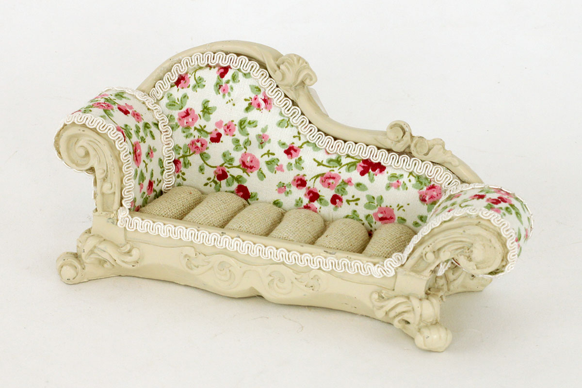 Stojan na prstýnky - Sofa růžičky