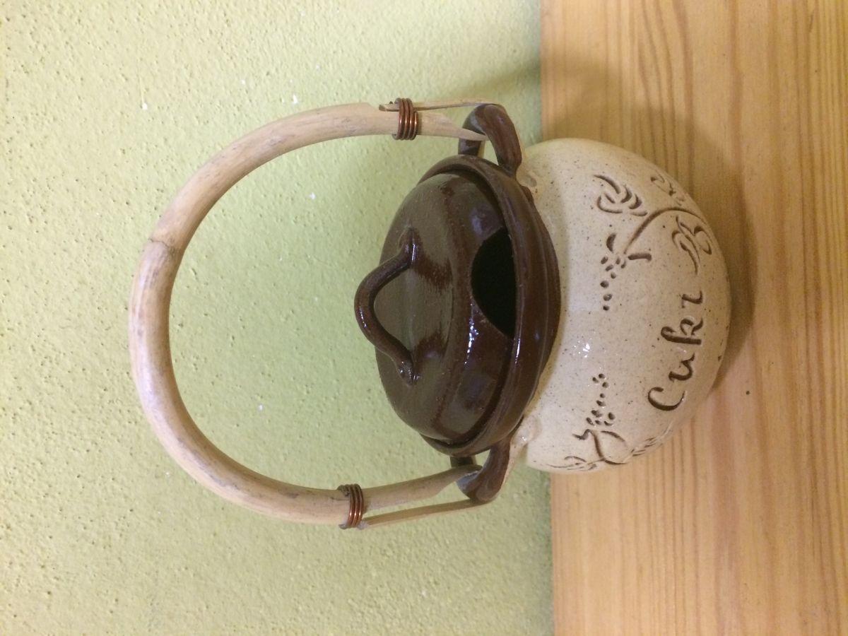 Keramická cukřenka Kafé