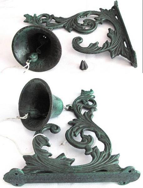 Litonový zvonek Green velký