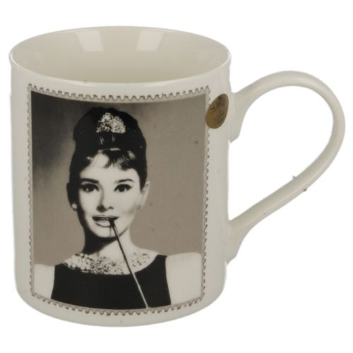 Keramický hrnek Audrey Hepburn