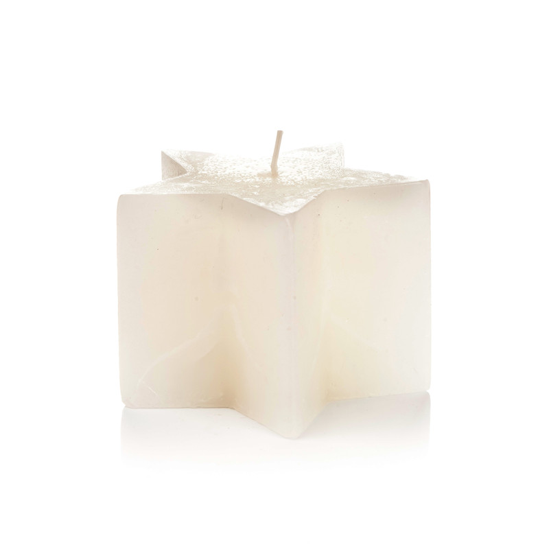 Vonná svíčka Hvězda Vanilka - poškozené zboží
