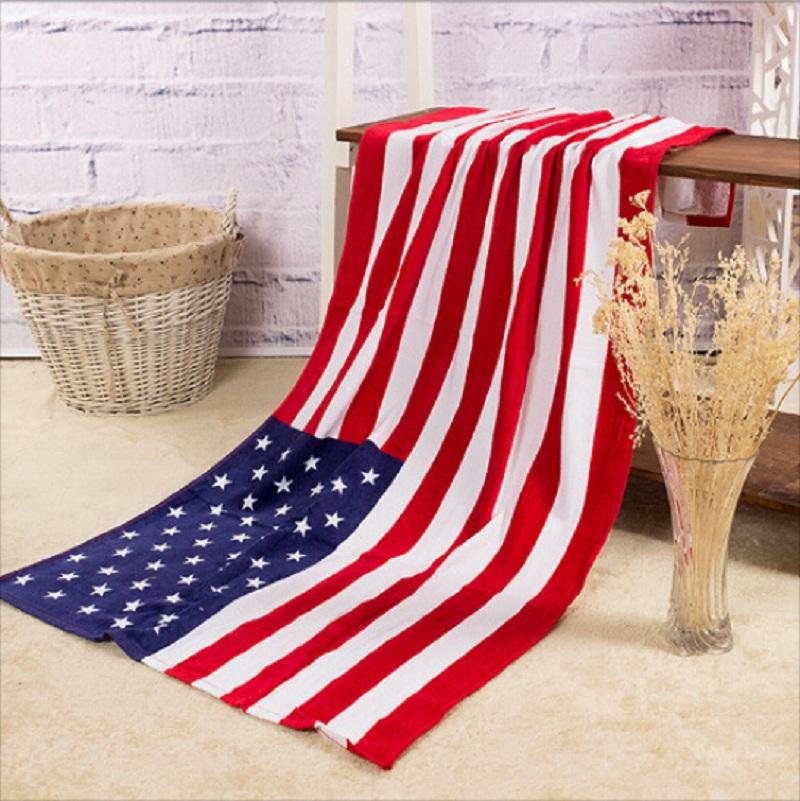 Velká osuška - ručník U.S.A.