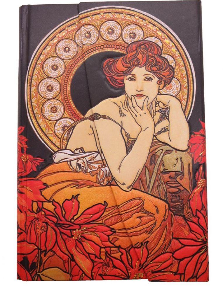 Krásný deníček - zápisník Alfons Mucha