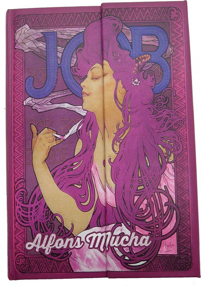 Krásný deníček - zápisník Alfons Mucha Job