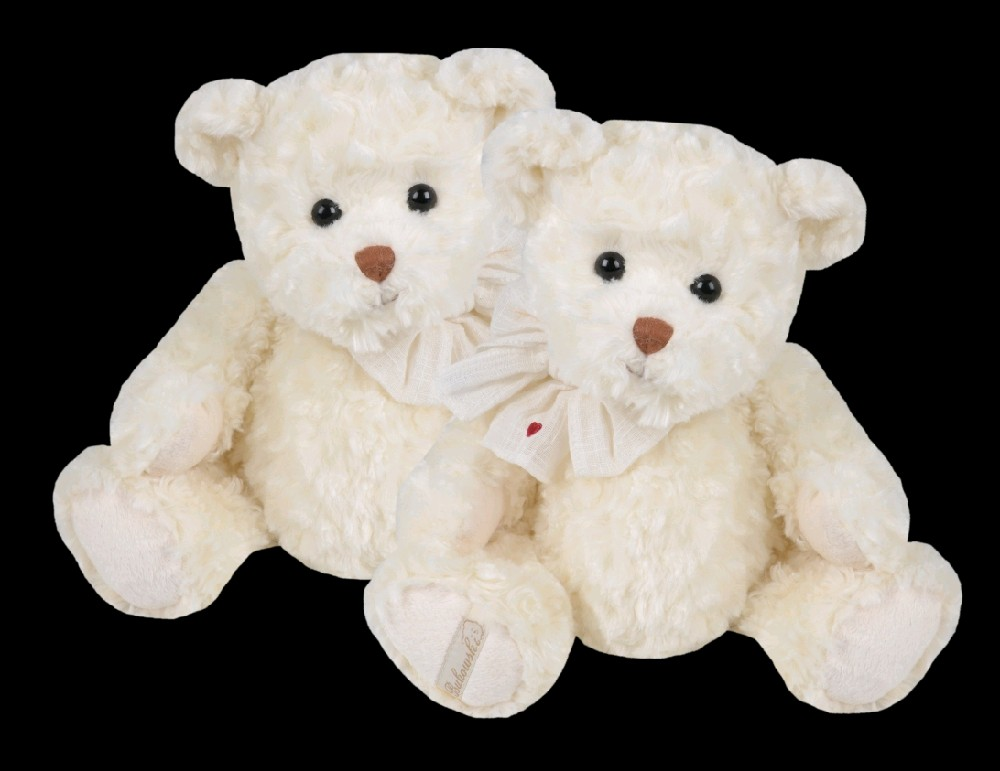 Medvídek Bukowski WALDEMAR medvídek (35 cm) velký, bílý