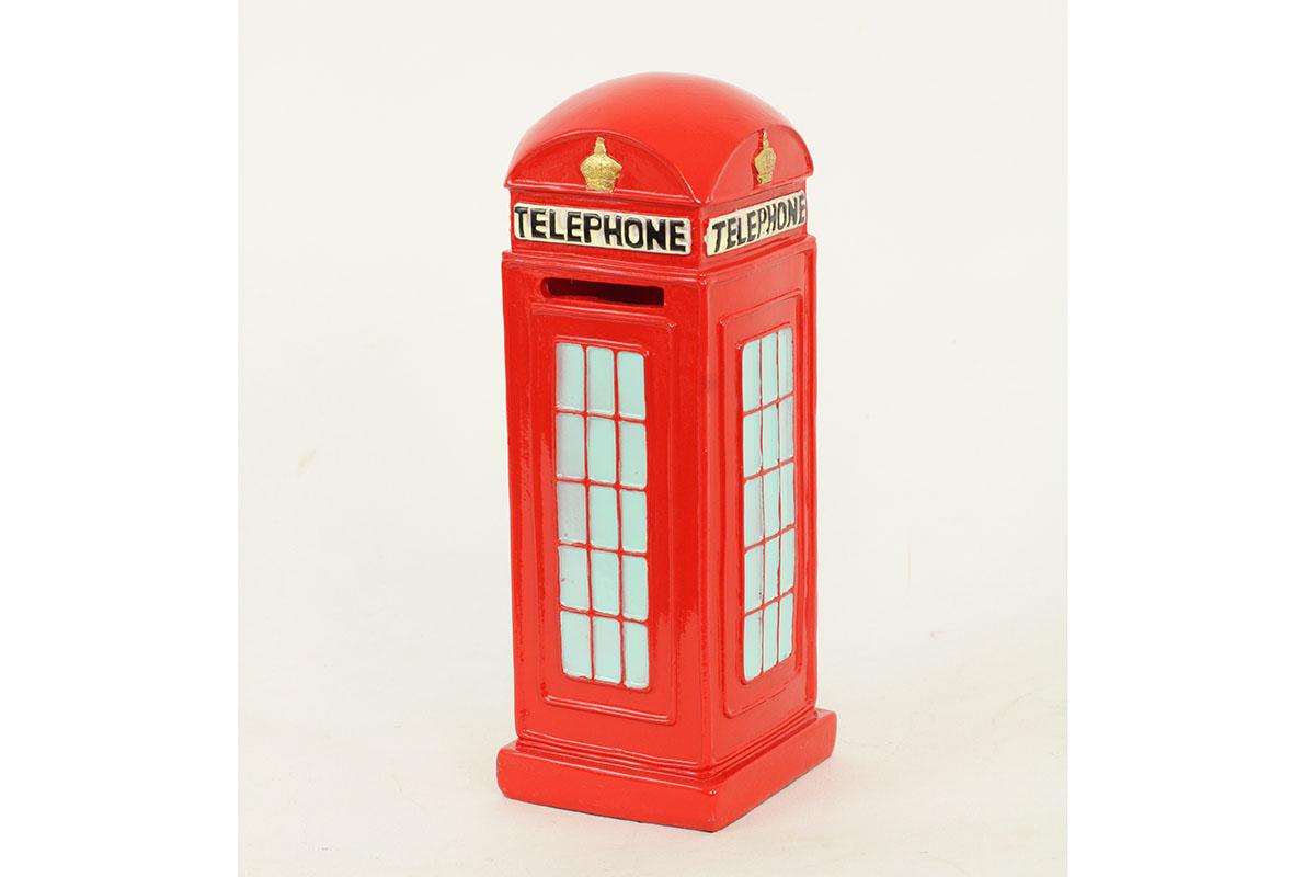 Pokladnička - kasička telefonní budka London