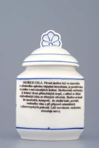 Porcelánové kořenky s receptem 6 kusů Cibulák - Český porcelán Dubí