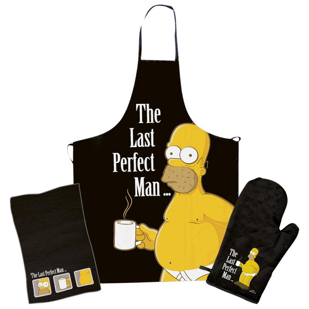 Kuchyňská zástěra The Simpsons - The last perfect man
