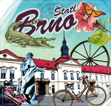 Keramický podtácek Brno Radnice