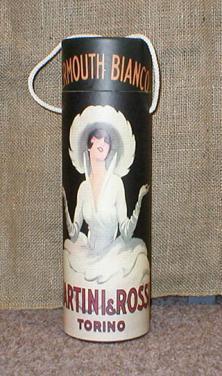 Tuba na víno s motivem Martini - menší