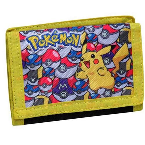 Dětská peněženka Pokémon Pikachu žlutá