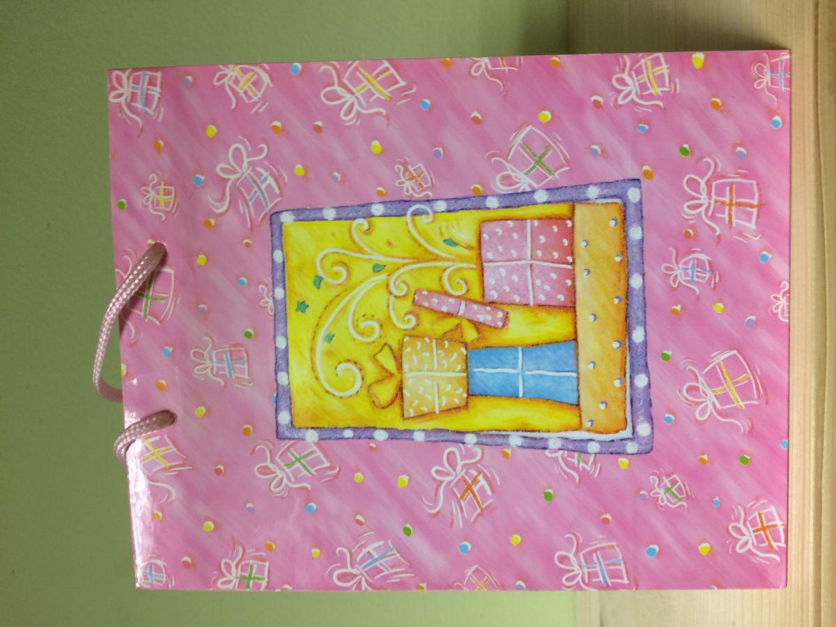 Dárková taška Dárky růžová
