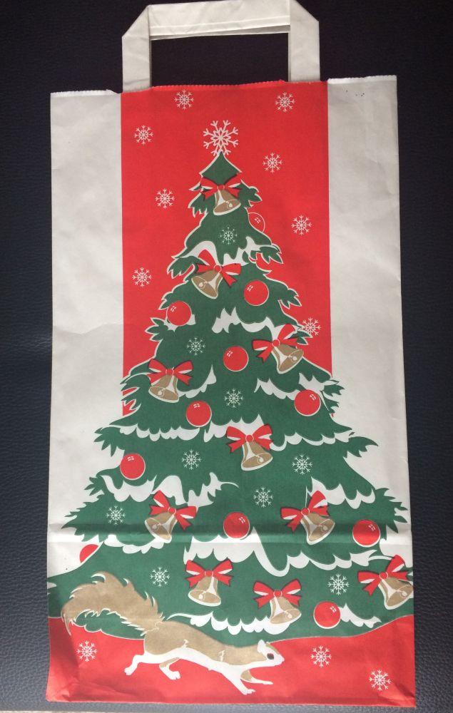 Dárková taška vánoční - Vánoční stromek