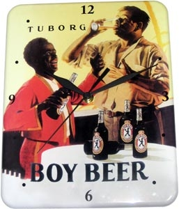 Nástěnné hodiny Boy beer